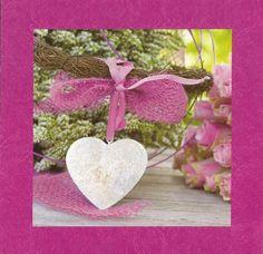 jolie carte de coeur reçu de ma maman