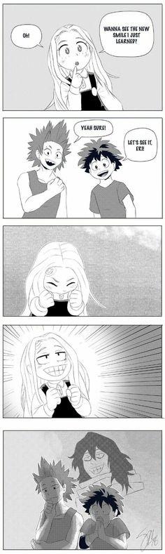 Wie der Vater so die Tochter - My Hero Academia Boku No Hero Academia Funny, My Hero Academia Shouto, My Hero Academia Episodes, Hero Academia Characters, Film Anime, Me Anime, Anime Guys, Anime Stuff, Memes Humor