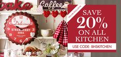 BHS - 20% Off All Kitchen