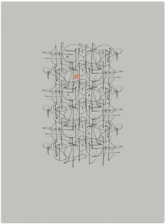 Calligraphi.ca - III - Sakura Pigma Micron Marker Pen - 0.5 mm (edit in photoshop) *font: Century Gothic - Greg Papagrigoriou