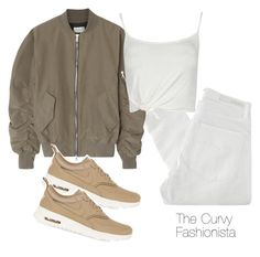 """""""Untitled #563"""" by thecurvyfashionista ❤ liked on Polyvore featuring Nobody Denim, Fear of God and NIKE"""