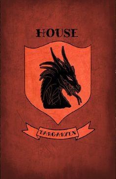 Game of Thrones (2011–) ~ Minimal TV Series Poster by Daniel Price #amusementphile
