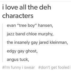 I lost it at edgy gay ghost