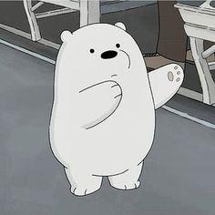 We bare bears Ice Bear We Bare Bears, We Bear, Bear Cartoon, Cartoon Icons, We Bare Bears Wallpapers, Cartoon Profile Pictures, Bear Wallpaper, Cute Memes, Vintage Cartoon