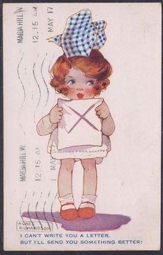 Agnes Richardson card, 1917 | eBay