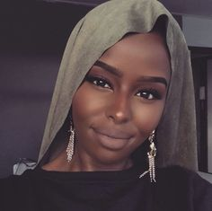 African Beauty, African Fashion, Miss World, Muslim Fashion, Black Is Beautiful, Beauty Hacks, Beauty Tips, Makeup Looks, Hair Beauty