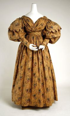 Walking Dress1830sThe Metropolitan Museum of Art