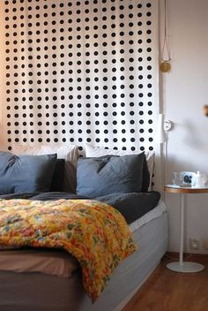 An inexpensive and creative alternative to a headboard. 520ae987fb04d66f73002977._w.540_s.fit_