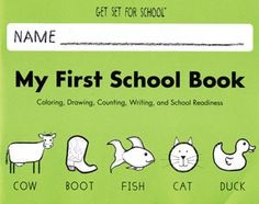 Amazon.com: Handwriting Without Tears - Get Set For School - My First School Book - Pre-K Activity Book: Office Products