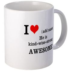 Father's Day Gift. Sale! Now $9.95 Was $12.99 Declaration of Love for him Mugs on CafePress.com