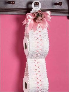 Toilet Paper Roll Holder free pattern 10 free patterns