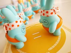 """Dolly Oblong's """"Noodles"""" Resin. Cute toys Cute designer toys and collectibles. Kawaii!"""