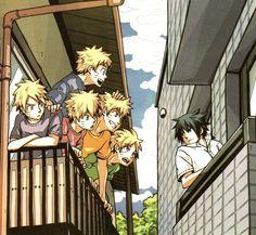 Naruto and Sasuke :D