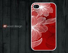 Hard case Rubber case 4 case iphone 4s case New by Atwoodting, $6.99