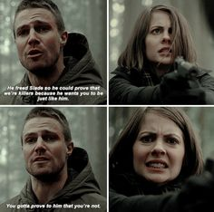 Thea's face though<<< dammit oliver stop being reasonable. I wanna kill this guy