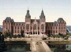 RIJKSMUSEUM MUSEUM   MUSEUM SQUARE   AMSTERDAM   THE NETHERLANDS