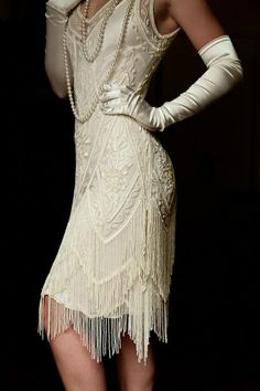 1920s style outfit