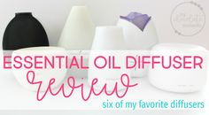 Looking for the best essential oil diffuser? Here are reviews of six of my favorite essential oil diffusers from Young Living and Amazon.