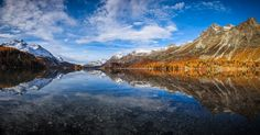 Silsersee by Thomas Siegenthaler - Photo 127489911 - 500px