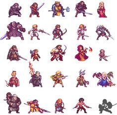 Fight of Thrones by Orkimides- Game of Thrones Pixel Art Characters