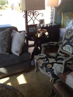 Great decorating ideas & design service available at Emory Anne Interiors on 33rd between Kelly & Santa Fe