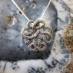 Sterling Traditional Celtic Design Necklace