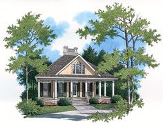 <!-- Generated by XStandard version 2.0.0.0 on 2009-12-22T10:44:36 --><ul><li>With a traditional Palladian window, an ornamental roof cap and an abundance of elegantly arched and shuttered windows, this home plan presents a timeless facade. The charming wraparound porch serves as an inviting treat.</li><li>Decorated with classic columns, the porch is the perfect outdoor spot for relaxing.</li><li>Surrounded by gorgeous windows, the versatile dining and living area accommodates guests and…