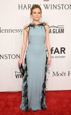 Diane Kruger au gala de l'amfAR