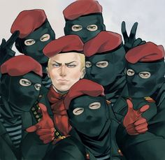 Metal Gear Solid 3 Snake Eater The Ocelot Unit Metal Gear Collection, Metal Gear Games, Revolver Ocelot, Metal Gear Solid Series, Metal Gear Rising, Kojima Productions, Gear Art, Video Game Art, Game Character