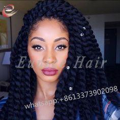 Jumbo Twist Crochet Braids African Hair Style Hair Extension,Havana ...