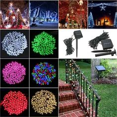 Only US$9.99, buy best 100 LED Solar Powered Fairy String Light Garden Party Decor XMAS sale online store at wholesale price.US/EU warehouse.