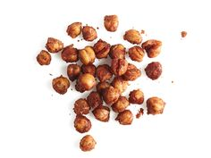 Crunchy Chickpeas : Cook a 15-ounce can drained chickpeas in an ovenproof skillet with 2 tablespoons olive oil and 1 teaspoon each cumin and smoked paprika, 2 minutes. Season with salt, then bake 20 minutes at 425 degrees F.