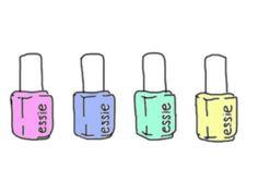 nail polish tumblr transparents