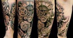 Biomechanical Tattoo Design ~ Inkednation