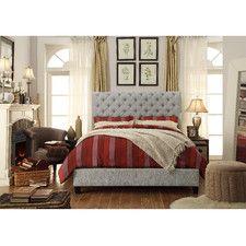 Calia Upholstered Queen Platform Bed