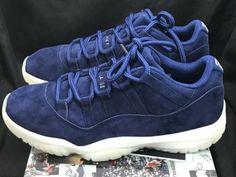 Nike Air Jordan 11 Retro Low Derek Jeter AV2187-441 RE2PECT Size 10.5  2619f550a