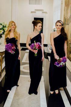black bridesmaids dresses 2014 - Google Search