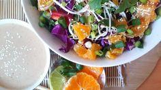 Simple Raw Vegan Pad Thai! Gluten free, tahini dressing, low fat raw vegan recipes, 801010 recipes, 801010 pad thai