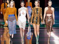Balmain Spring/Summer 2016 Collection  #runway #fashion #catwalk