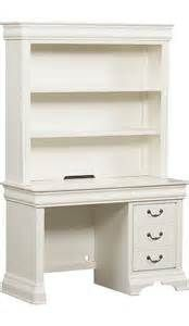 Antique White Desk with Hutch - Bing images