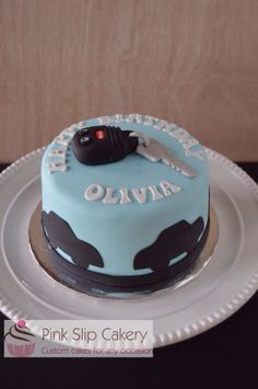 New driver 16 year old cake
