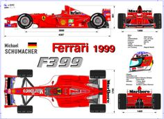 Michael Schumacher's F399