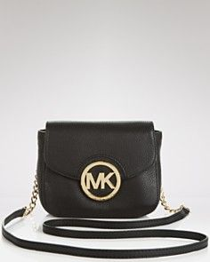 MICHAEL Michael Kors Crossbody - Small Leather