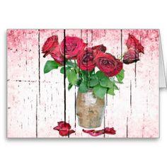 Roses Greeting Cards #Rose #Flower #GreetingCard