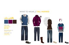 What to wear for fall family portraits.