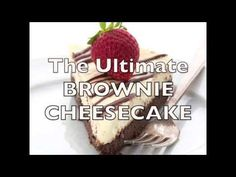 Low Carb Brownie Cheesecake Recipe | All Day I Dream About Food