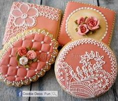Stunning! Mother's Day cookies