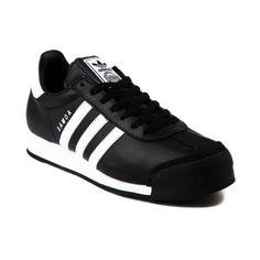 adidas Samoa Athletic Shoe in Black White at Journeys Shoes.