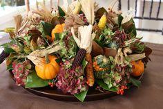Autumn Flower Arrangement - Fall Centerpiece - Flower Arrangements