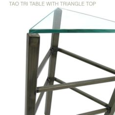 Tao Tri Table by Boltz | Pedestal Tables | Boltz Steel Furniture